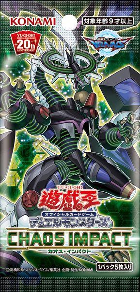 thẻ bài booster pack Yugioh Chaos Impact